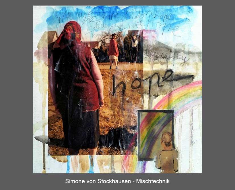 Simone von Stockhausen - Mischtechnik